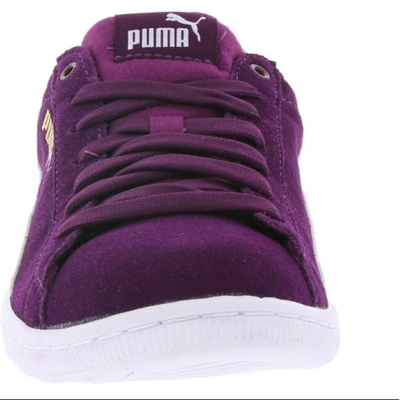 Puma Shoes | Puma Vikky Sneakers Violet